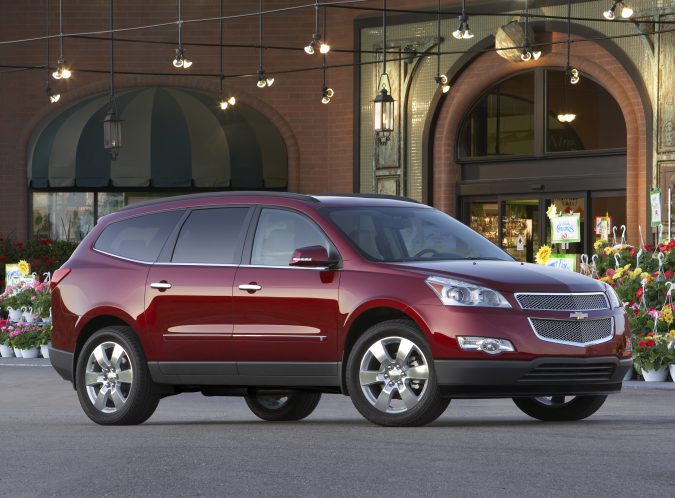 The 2011 model year had the most Chevy Traverse problems.