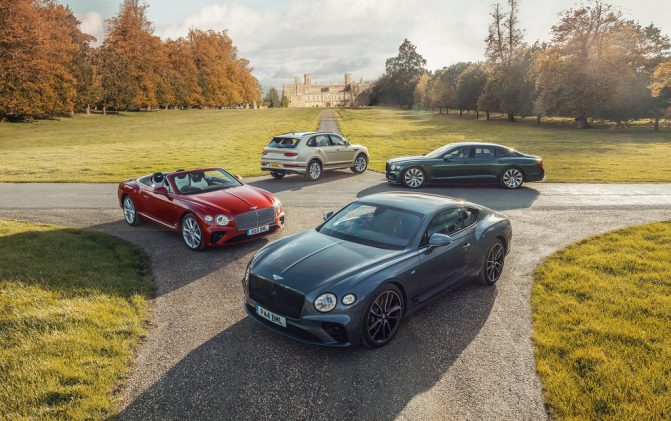 Bentley Current Models 2021