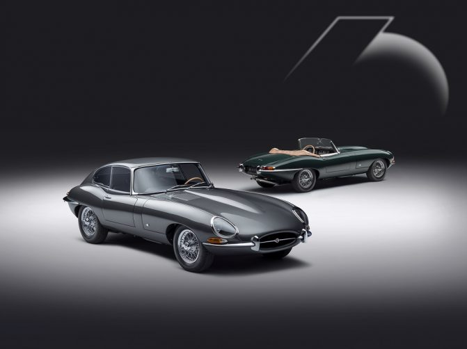 Jaguar E-type 60 Edition FHC and Roadster