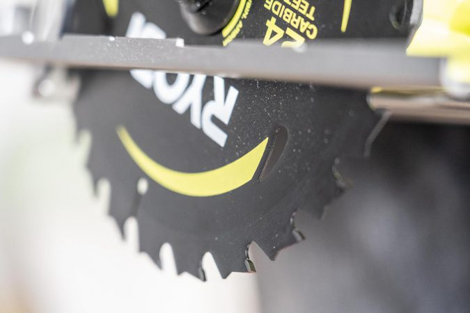 Ryobi's RCS18X has an upgraded brushless motor, which is able to cut faster than before.