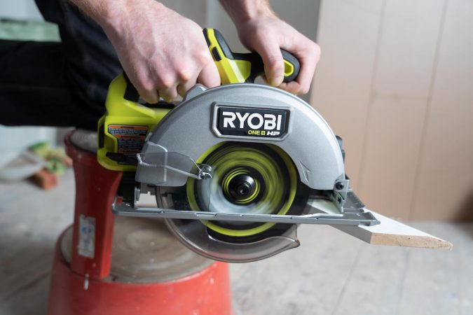 The Ryobi RCS18X is one of the best circular saws on the market for the same price.