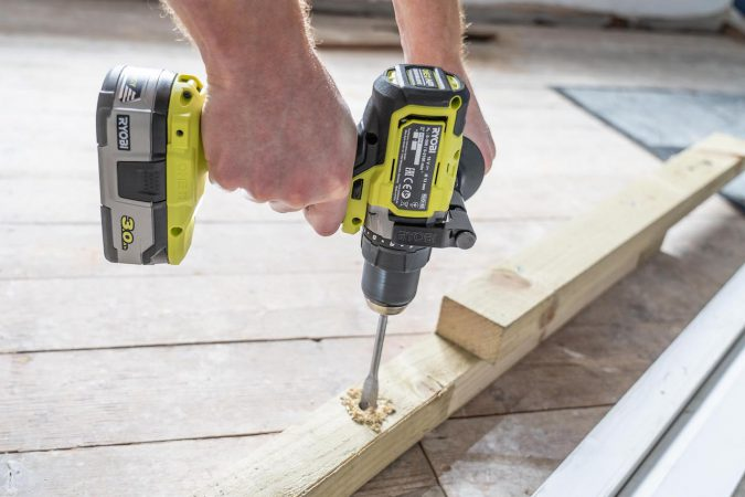 Ryobi's RDD18X is only a conventional rotary drill, but it works well in that regard.