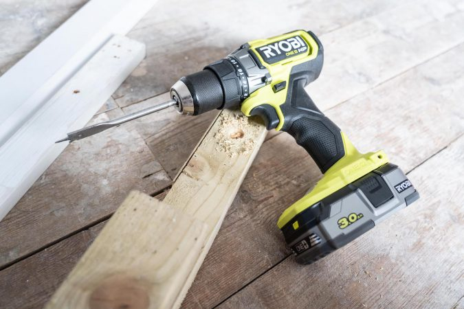 The Ryobi RDD18X is a great drill to have in your garage.