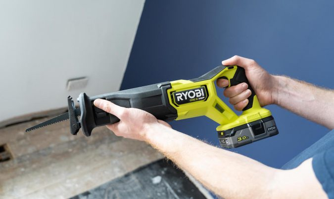 Ryobi's RRS18X reciprocating saw is a great little tool to have in your shed.