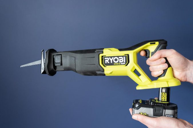 One awesome feature is being able to easily interchange the battery with some other Ryobi tools.