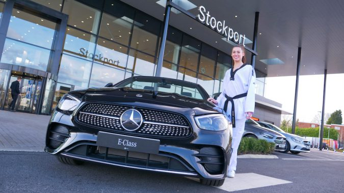 Following this new agreement, Bianca Walkden herself will be getting a new E-Class Cabriolet.