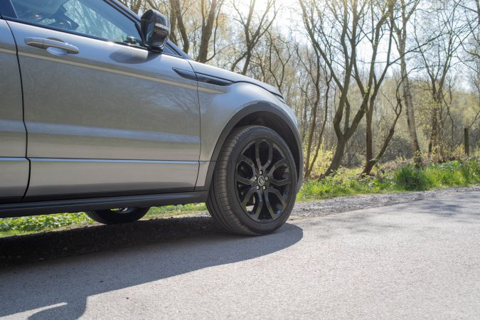 We're testing these on our Range Rover Evoque diesel 4WD.