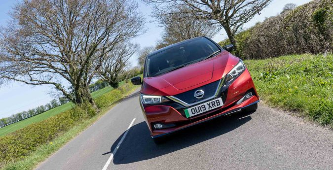 Nissan's LEAF e+ 3.ZERO is certainly not a sporty car, but it's very comfortable to drive.
