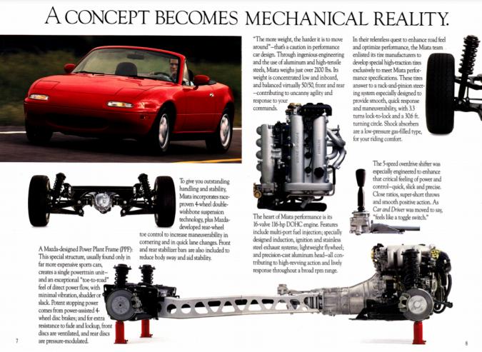Mazda Miata 1990 trasnmission