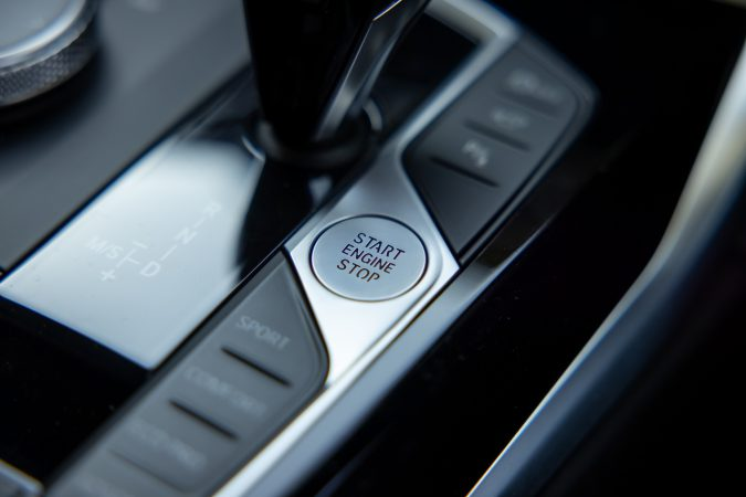 BMW M440i xDrive Coupe Start Stop Button