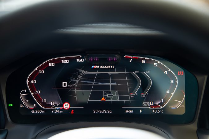 BMW M440i xDrive Coupe Drivers Instruments