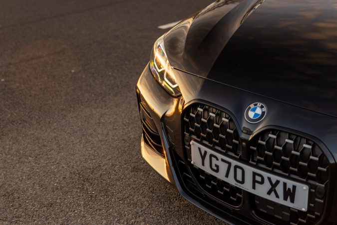 BMW M440i xDrive Coupe Grille and Headlight