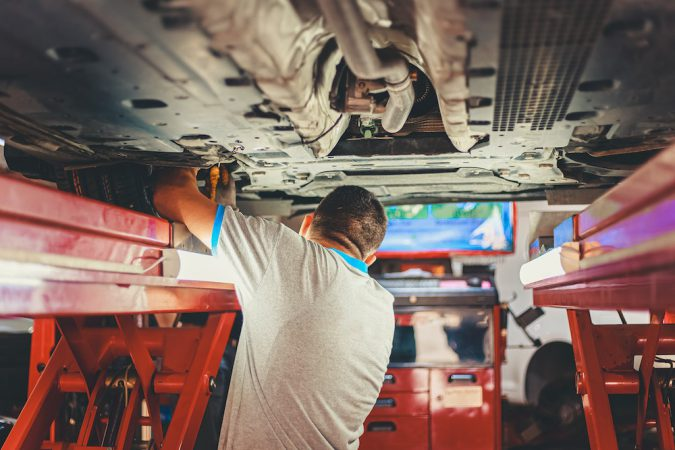 Can You Drive Without A Catalytic Converter mechanic workshop technician repair replacement service exhaust cats