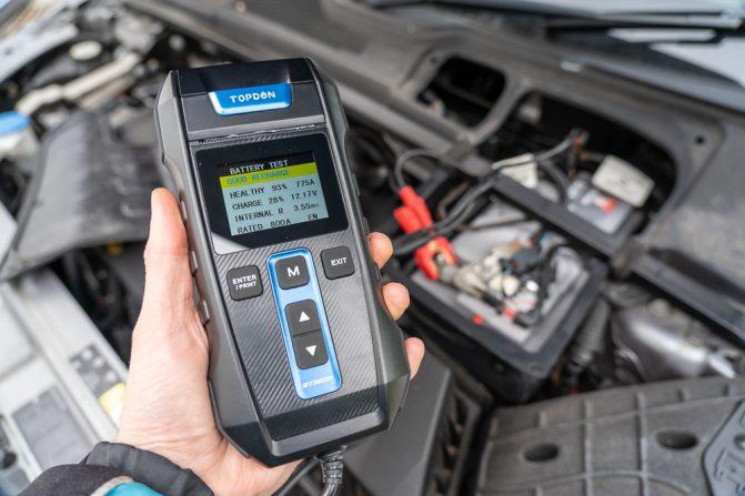 TOPDON BT300P Battery Tester